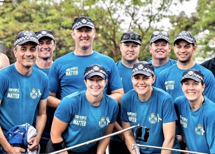 It's a Silver Medal Finish for the QPS Rowing Team at the Emergency Services Regatta!